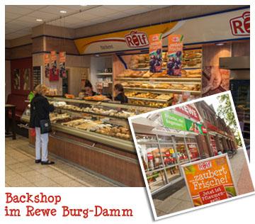 Bäckerei Rolf im Rewe-Markt
